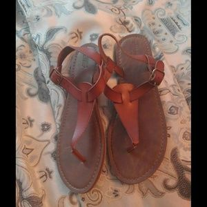 Size 9. Mossimo Sandals. Like New Condition.